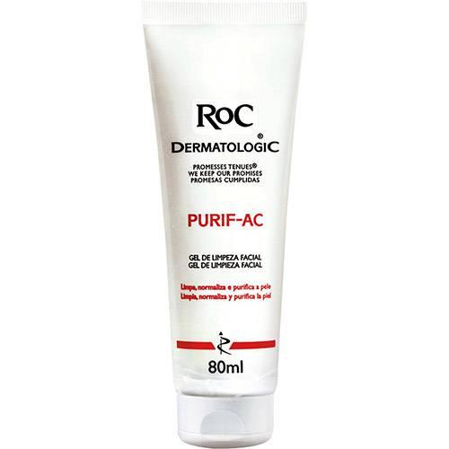 Limpeza de Pele Purif-Ac 80g RoC