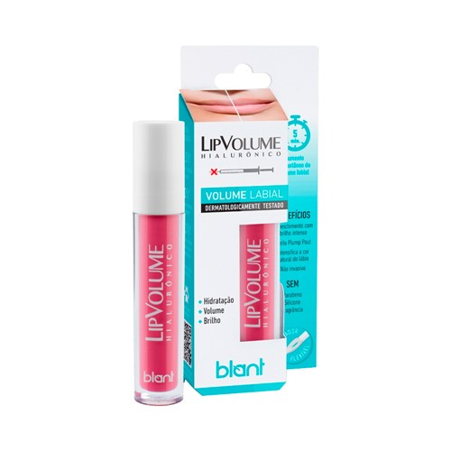 Lip Volume Hialurônico Rosa Blant