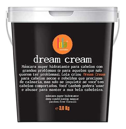 Lola Cosmetics Dream Cream - Máscara Capilar 3kg