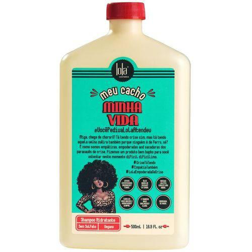 Lola Cosmetics - Meu Cacho Minha Vida Shampoo Hidratante 500ml-Lola Cosméticos