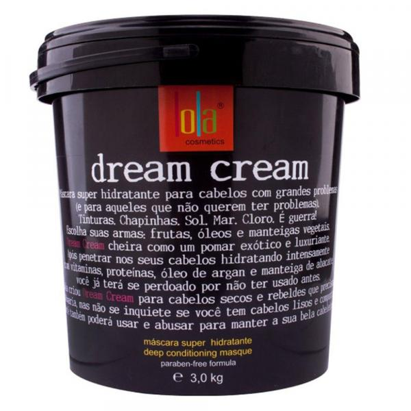 Lola Dream Cream - Máscara Super Hidratante - 3kg