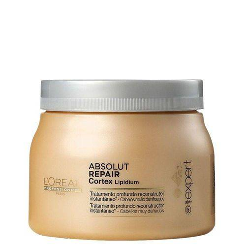 L'Oréal Professionnel Absolut Repair Cortex Lipidium Instant Reconstructing Masque - Máscara 500g