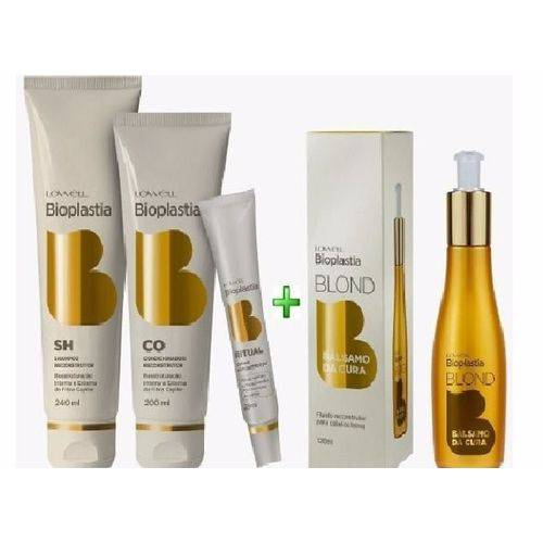 Lowell BioPlastia Capilar Kit Home Care + Balsamo da Cura Lowell 120ml
