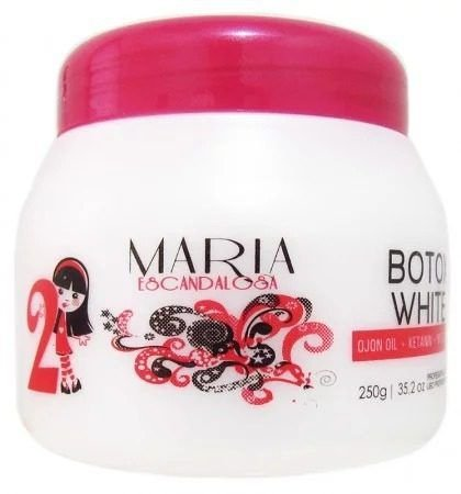 Maria Escandalosa Botox White 250g (Kit C/12)