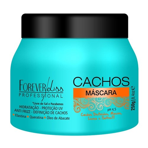 Máscara Cachos Forever Liss 250G