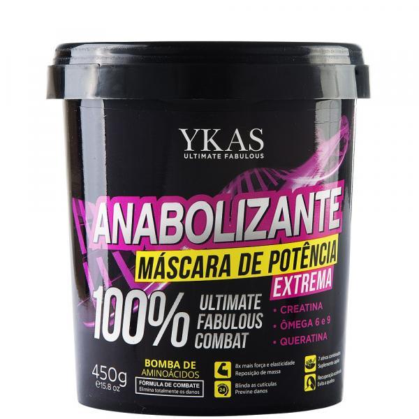 Máscara Capilar Ykas Anabolizante - 450g