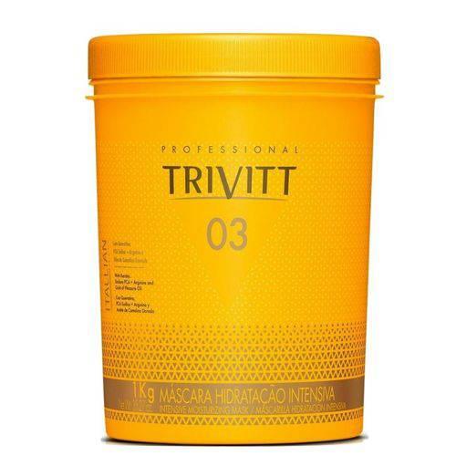Máscara de Hidratação Intensiva 03 Trivitt 1kg