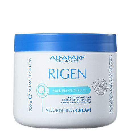 Máscara de Tratamento Alfaparf Rigen Milk Protein Plus Nourishing Cream - 500g