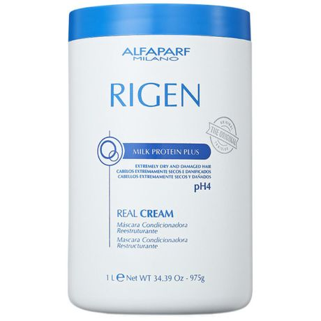 Máscara de Tratamento Alfaparf Rigen Milk Protein Plus Real Cream PH4 – 1Kg