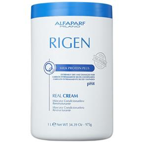Máscara de Tratamento Alfaparf Rigen Milk Protein Plus Real Cream PH4 ? 1Kg
