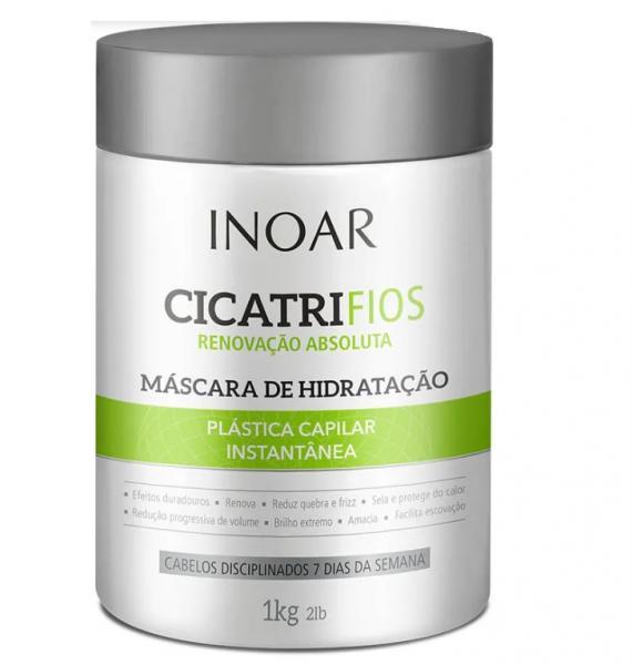 Máscara de Tratamento Profissional Inoar CicatriFios 1kg - 1 Unidade