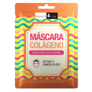 Máscara Facial Beauty 4 Fun Anti-idade Colágeno 1 Un