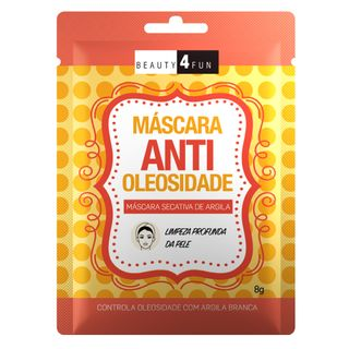 Máscara Facial Beauty 4 Fun Anti Oleosidade 1 Un