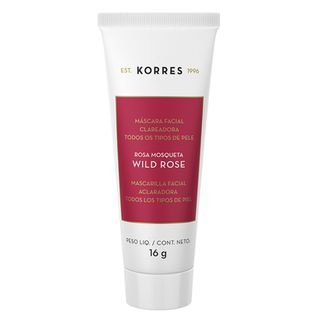 Máscara Facial Clareadora Korres Wild Rose 16g