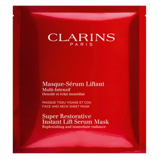 Máscara Facial Clarins - Super Restorative Instant Lift Serum Mask 30ml