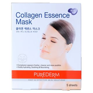 Máscara Facial de Colágeno Purederm Collagen Essence Mask 5x 25ml