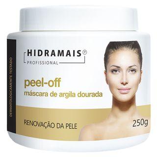 Máscara de Argila Dourada Peel-Off Hidramais 250g