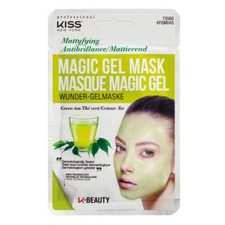 Máscara Facial Kiss New York - Magic Gel Mask Chá Verde 1 Un
