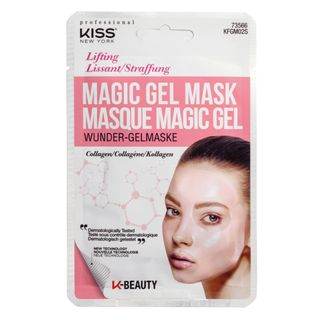 Máscara Facial Kiss New York - Magic Gel Mask Colágeno 1 Un