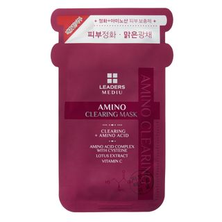 Máscara Facial Leaders - Mediu Amino Clearing 1 Un