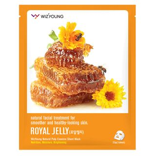 Máscara Facial Sisi Cosméticos - Wizyoung Royal Jelly Collagen 1 Un