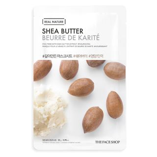 Máscara Facial The Face Shop Real Nature - Shea Butter 1 Un