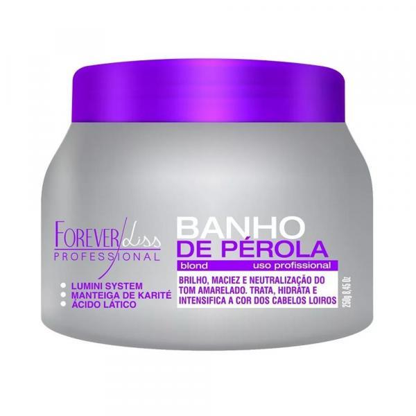 Máscara Hidratante Banho de Pérola Forever Liss 250g