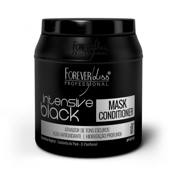 Máscara Intensive Black Forever Liss 950g