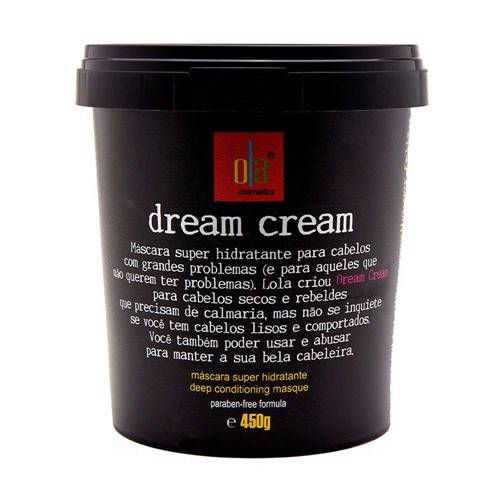 Máscara Lola Dream Cream 450g