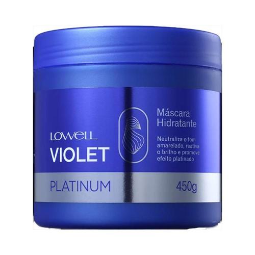 Máscara Lowell Violet Platinum 450g