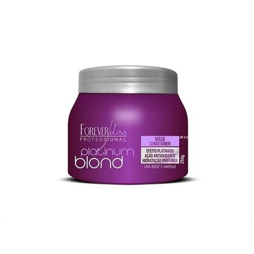 Máscara Matizadora Platinum Blond 250G - Forever Liss