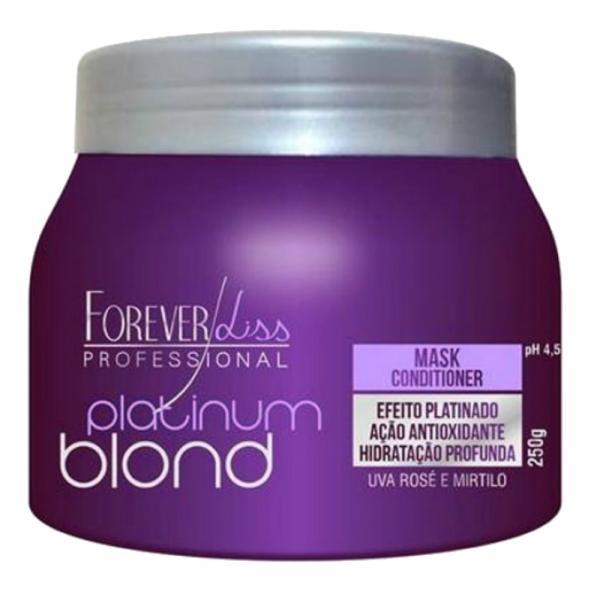 Máscara Platinum Blond Matizadora 250gr - Forever Liss