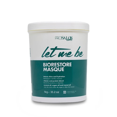 Mascara Pro Salon Let me Be Biorestore Masque 1Kg