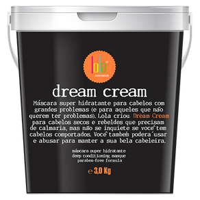 Máscara Super Hidratante Dream Cream 3kg