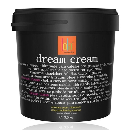 Máscara Super Hidratante Lola Dream Cream 3Kg