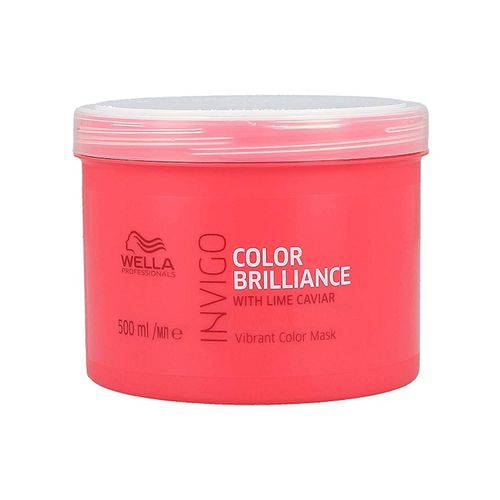 Máscara Wella Invigo Color Brilliance 500ml