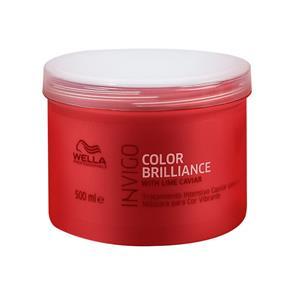 Máscara Wella Professional Invigo Color Brilliance - 500 Ml