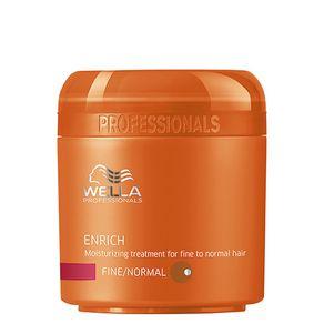 Máscara Wella Professionals Enrich Fine To Normal Hair de Hidratação 150ml