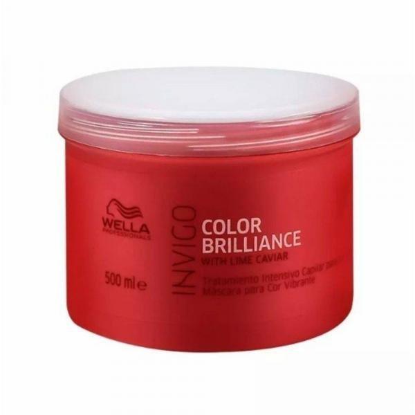 Máscara Wella Professionals Invigo Color Brilliance 500 Ml