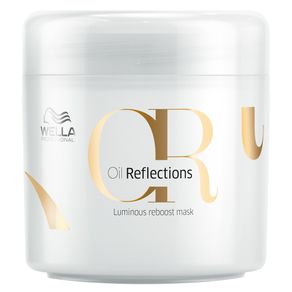 Máscara Wella Professionals Oil Reflections Luminous Reboost de Hidratação 150ml