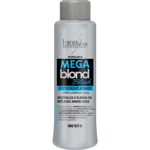 Matizador Mega Blond Black Forever Liss 500ml