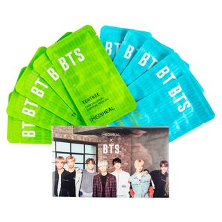 Mediheal Kit - Máscaras Faciais + Photocard BTS Kit