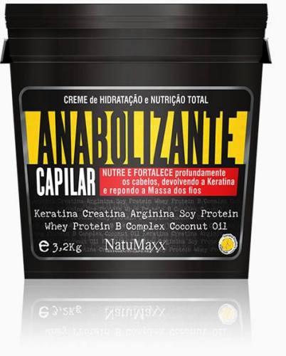 Natumaxx Anabolizante Máscara Capilar 3,2kg