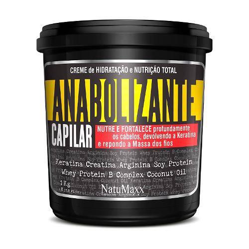 Natumaxx Máscara Anabolizante Capilar 1kg
