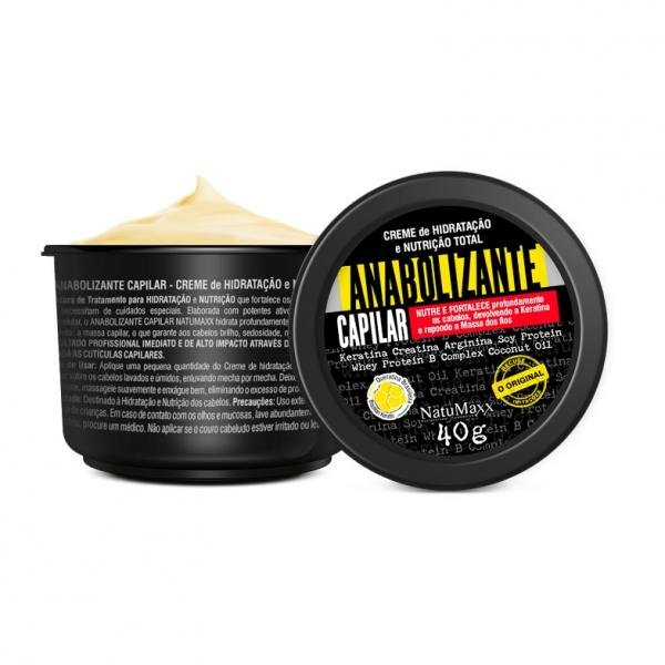 Natumaxx Máscara Anabolizante Capilar 40g