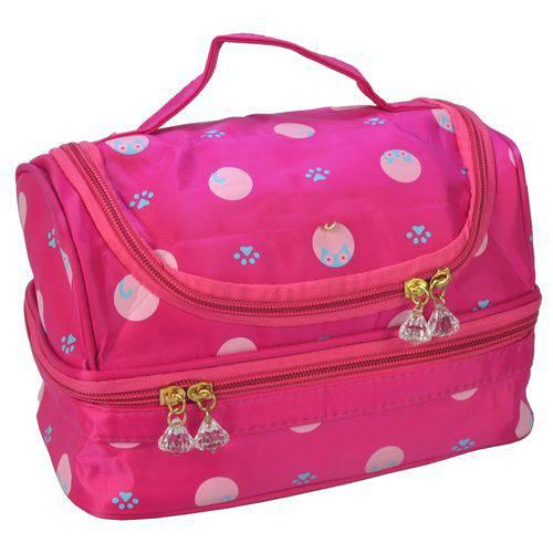 Necessaire Feminina Bolsa Térmica Pink CBRN05918
