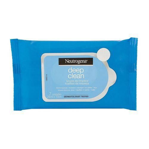 Neutrogena Deep Clean Lenços de Limpeza