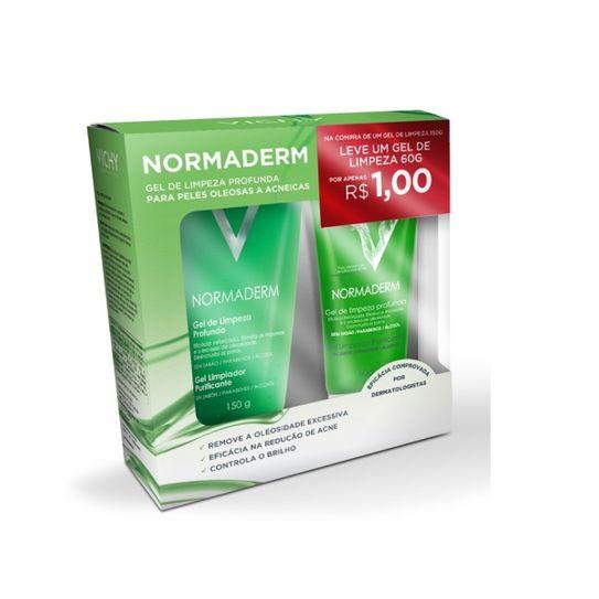 Normaderm Vichy Limpeza Profunda Gel 150g + Normaderm Vichy Gel de Limpeza Profunda 60g Preço Especial