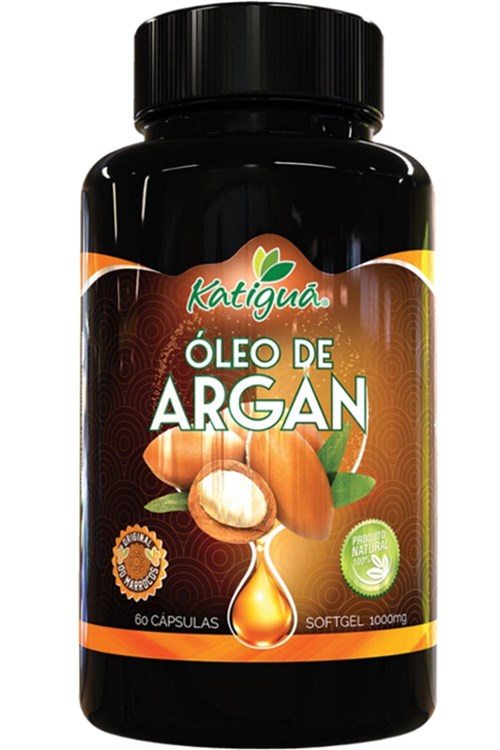 Oleo de Argan 1000Mg 60 Cápsulas Katigua