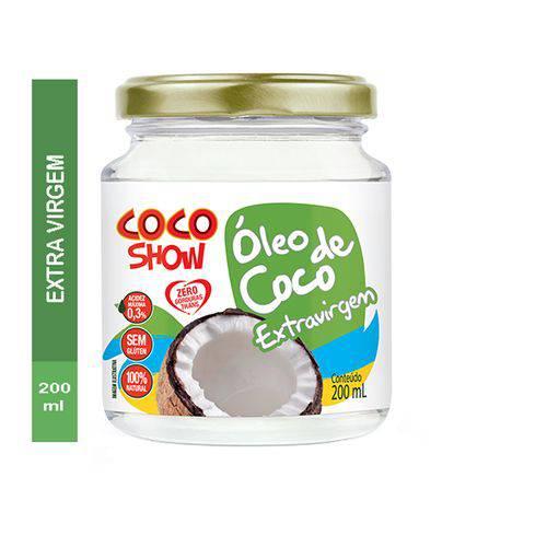 Óleo de Coco Copra Extra Virgem 200ml Coco Show